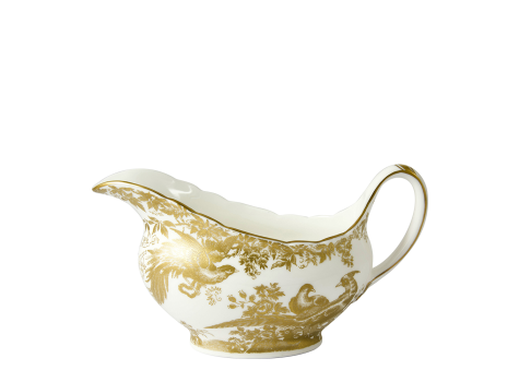 AVES GOLD - SAUCE BOAT