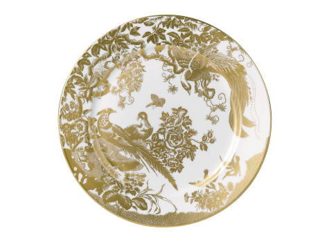 AVES GOLD - SERVICE PLATE