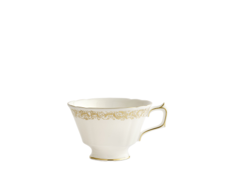 AVES GOLD NARROW BORDER - TEA CUP
