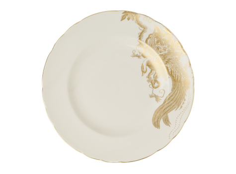 AVES GOLD MOTIF - PLATE (10.65IN/27CM)