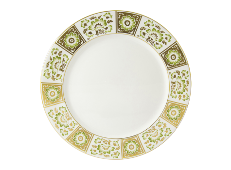 DERBY PANEL GREEN - PLATE (27cm )