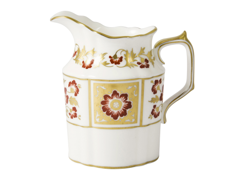 DERBY PANEL RED - CREAM JUG (27cl )