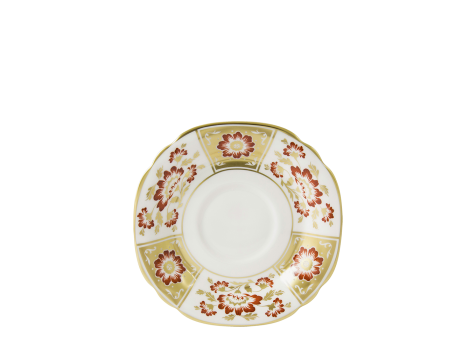 DERBY PANEL RED - BREAKFAST SAUCER