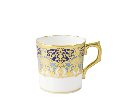 HERITAGE COBALT & DARK BLUE - COFFEE CUP