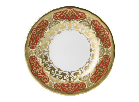 HERITAGE RED & CREAM - PLATE (16cm )
