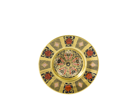 OLD IMARI SOLID GOLD BAND - COFFEE SAUCER