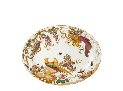 OLDE AVESBURY - OVAL DISH (41.75cm)