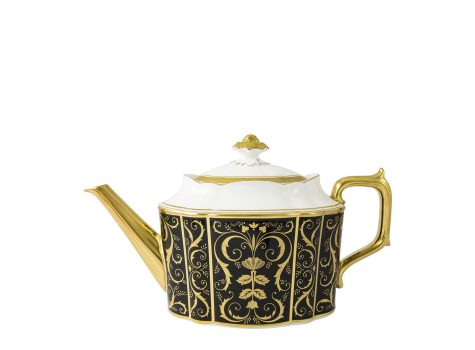 REGENCY BLACK - TEAPOT (120cl )
