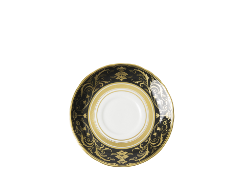 REGENCY BLACK - BREAKFAST SAUCER