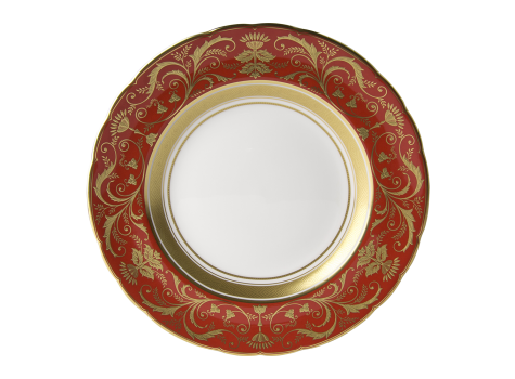 REGENCY RED - PLATE (21.65cm )