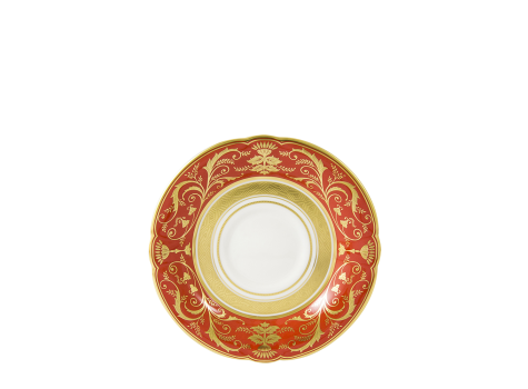 REGENCY RED - TEA SAUCER
