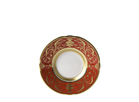 REGENCY RED - COFFEE SAUCER
