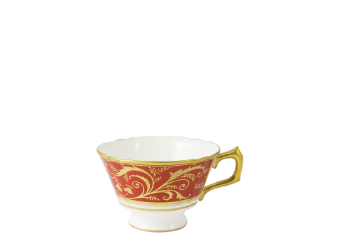 REGENCY RED - BREAKFAST CUP