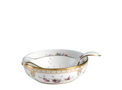 ROYAL ANTOINETTE - TEA STRAINER & DRIP BOWL