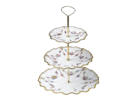 ROYAL ANTOINETTE - CAKE STAND - 3 TIER