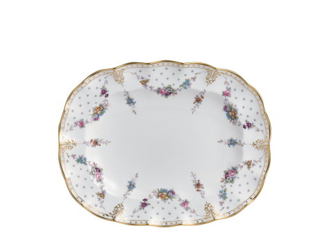 ROYAL ANTOINETTE - OVAL DISH (34.5cm )