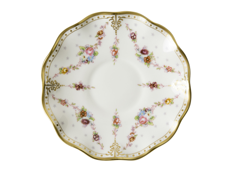 ROYAL ANTOINETTE - CREAM SOUP SAUCER