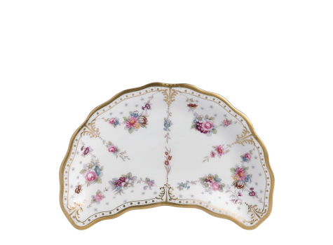 ROYAL ANTOINETTE - CRESCENT SALAD PLATE