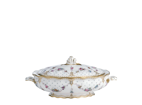 ROYAL ANTOINETTE - COVERED VEGETABLE DISH