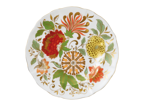 SEASONAL ACCENT PLATES 21.5CM - INDIAN SUMMER