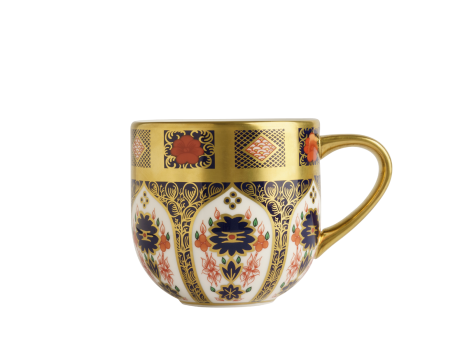 OLD IMARI SOLID GOLD BAND - MUG