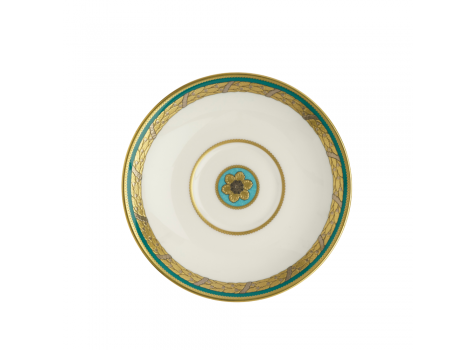 TURQUOISE PALACE -  CREAM SOUP SAUCER