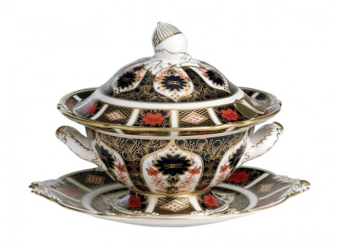 SAUCE TUREEN & COVER