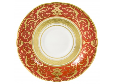 REGENCY RED - BREAKFAST SAUCER