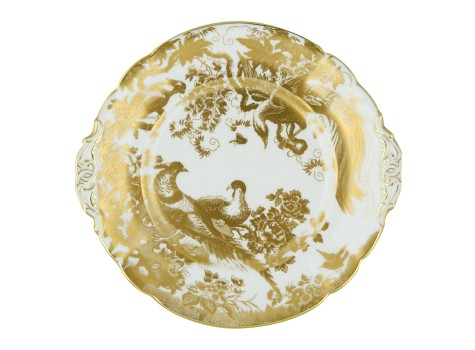 AVES GOLD - BREAD & BUTTER PLATE (25cm)