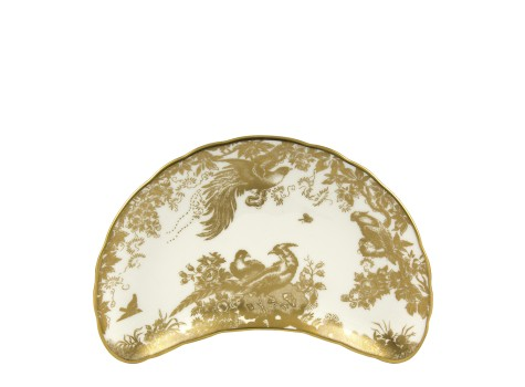 AVES GOLD - CRESCENT SALAD PLATE