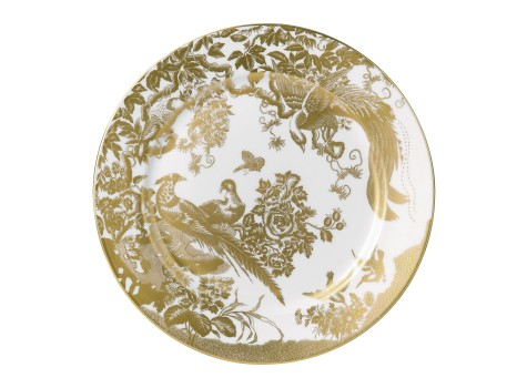 AVES GOLD - SERVICE PLATE (30.5cm)