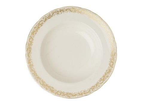 AVES GOLD NARROW BORDER - RIM SOUP
