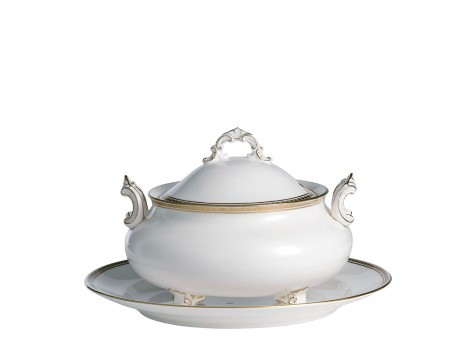CARLTON GOLD - SOUP TUREEN & COVER