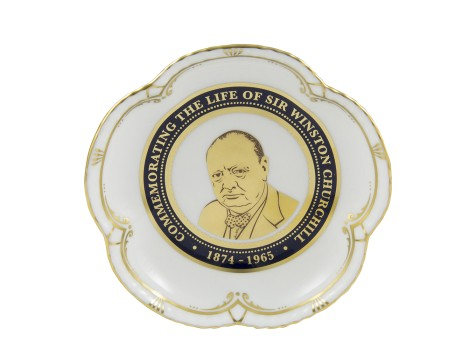 WINSTON CHURCHILL 5 PETAL TRAY