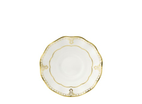 ELIZABETH GOLD - TEA SAUCER
