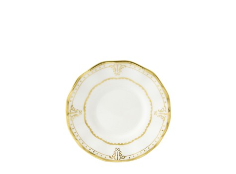 ELIZABETH GOLD - COFFEE SAUCER