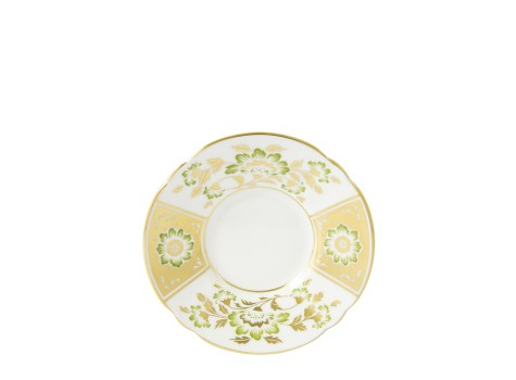 DERBY PANEL GREEN - COFFEE SAUCER