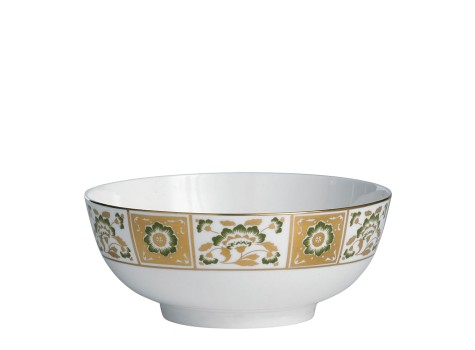 DERBY PANEL GREEN - SALAD BOWL