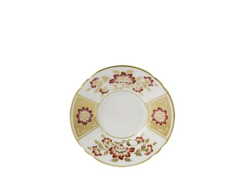 DERBY PANEL RED - COFFEE SAUCER