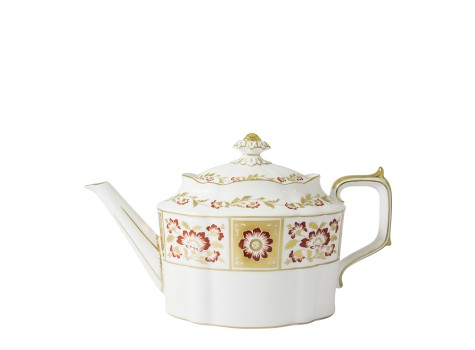 DERBY PANEL RED - TEAPOT (120cl )