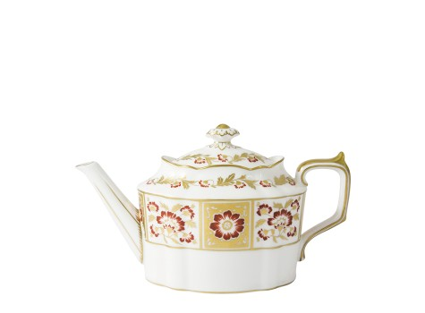 DERBY PANEL RED - TEAPOT (51cl )