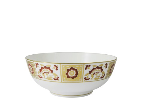 DERBY PANEL RED - SALAD BOWL