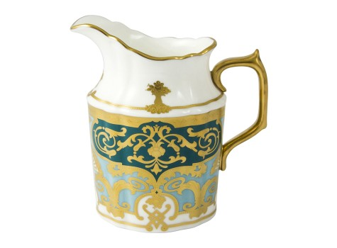 HERITAGE FOREST GREEN & TURQUOISE - CREAM JUG (27cl )