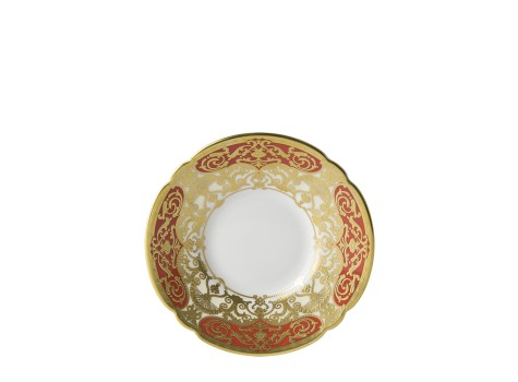 HERITAGE RED & CREAM - COFFEE SAUCER