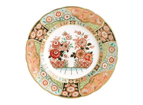 REGENCY FLOWERS PLATE (BOXED)