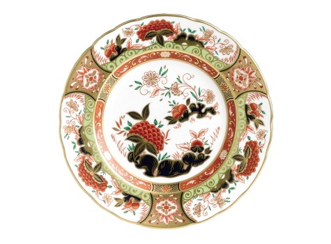 GOLDEN PEONY PLATE (BOXED)