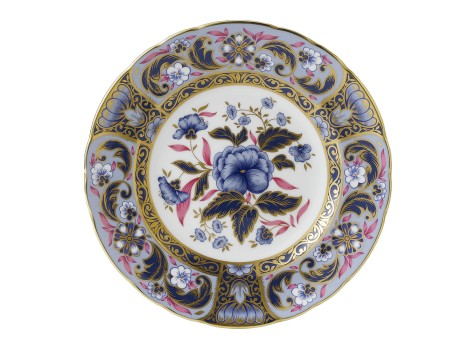 BLUE CAMELLIAS PLATE (BOXED)