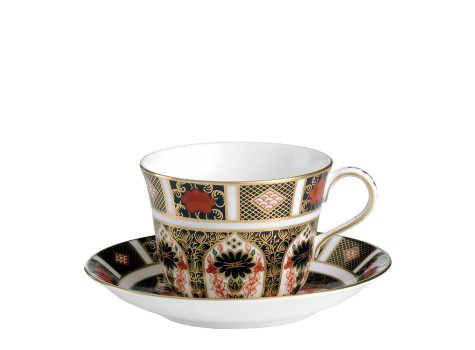 TEA CUP & SAUCER (BOXED)