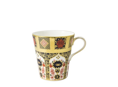 OLD IMARI SOLID GOLD BAND - BEAKER
