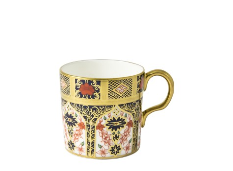 OLD IMARI SOLID GOLD BAND - COFFEE CUP